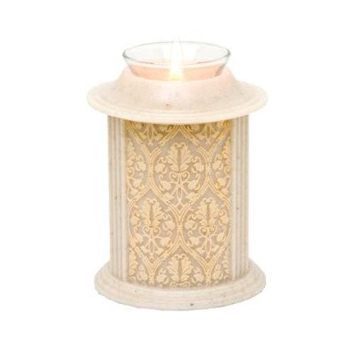 Eternity Natural Filigree Candle Keepsake