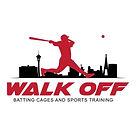 Walk Off Batting Cages - Las Vegas Logo.