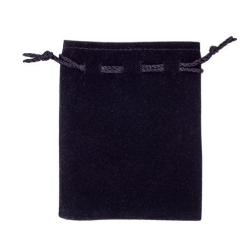 Black Jewellery Pouch