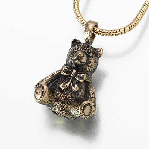 Antiqued Bronze Teddy Bear
