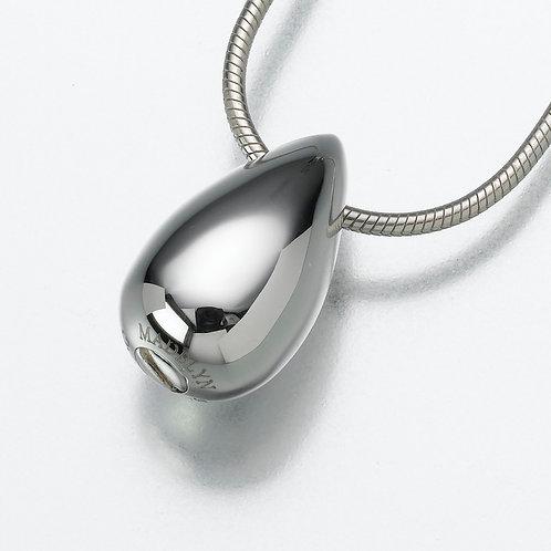 Sterling Silver Tear Drop