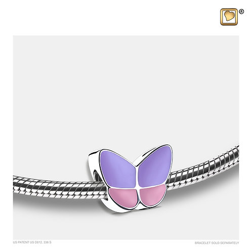 Wings of Hope Ashes Bead Pearl Lavender