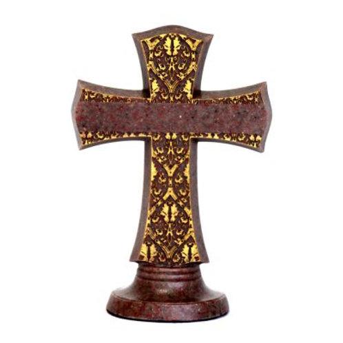 Eternity Ruby Cross Keepsake