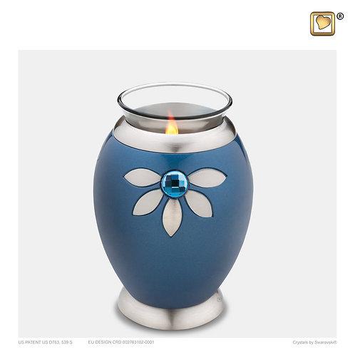 Nirvana Azure Tealight Urn