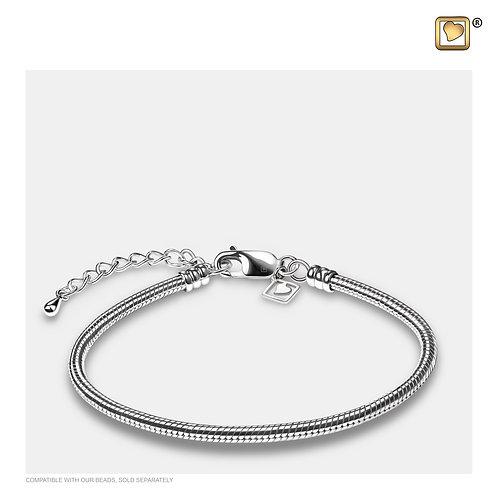 Bracelet Sterling Silver 925 Polished Silver