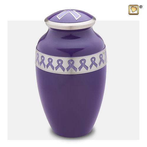 Awareness Urn Purple