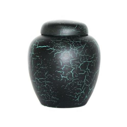 Handcrafted Pottery Midnight Keepsake