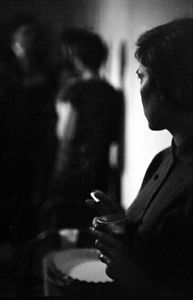 Saul Leiter | Barbara smoking | 1950s