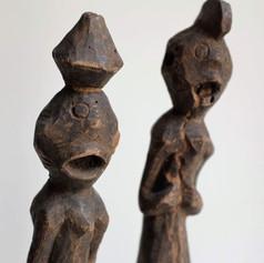Statues Chamba (détail) | Nigéria