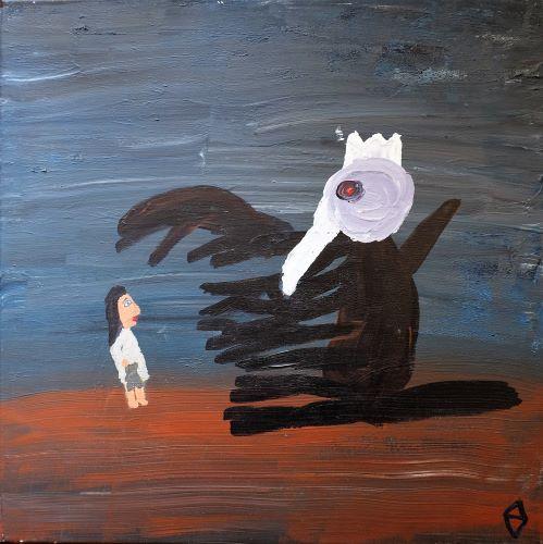 La jeune fille affronte ses démons