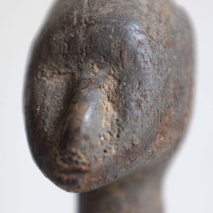 Statue Montol (détail) | Nigéria