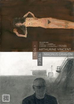 Exposition Arthurine Vincent Magnus Gramén
