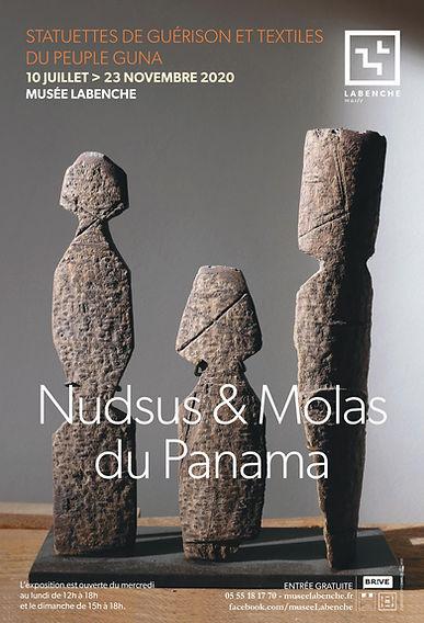 Affiche nudsus et molas du panama
