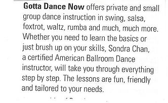 sondra ad in the guide description text