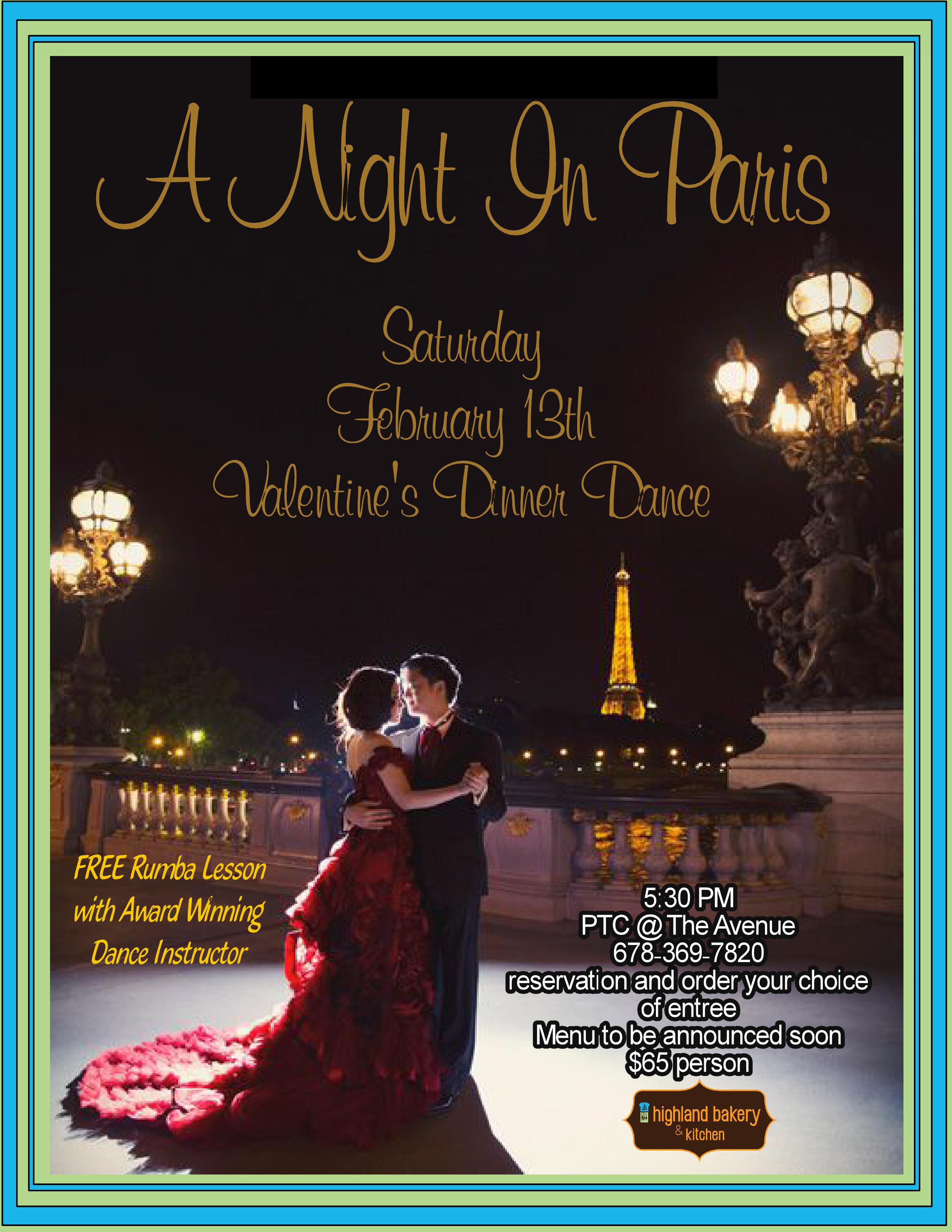 Romance in Paris in PTC