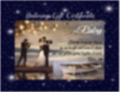 gift cert on dock with starlight frame.j