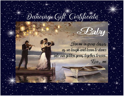 gift cert on dock with starlight frame.j