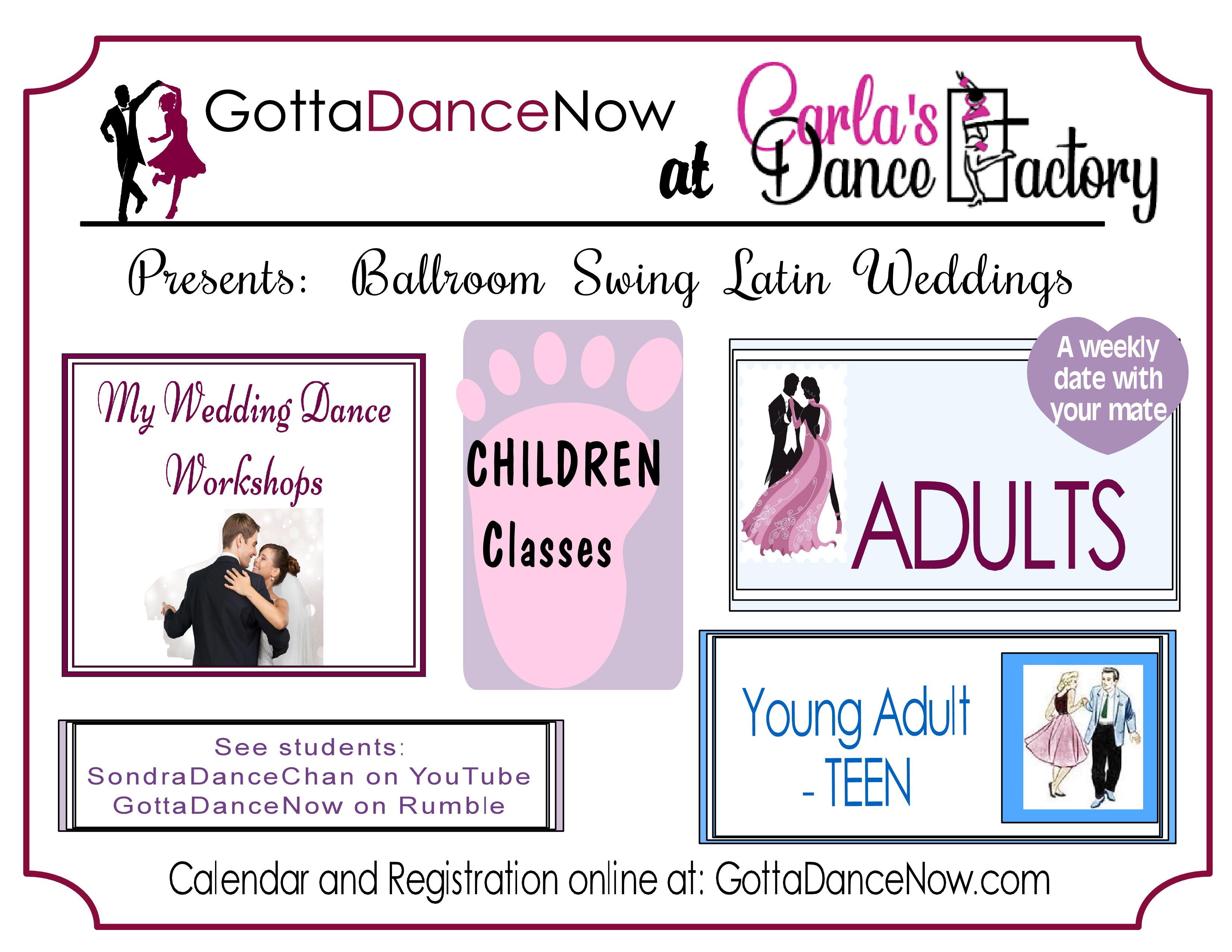 Swing Latin Ballroom Weddings
