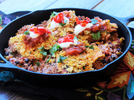 One Skillet Wonder-Mexican Chicken and Rice Skillet