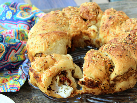 Loaded Italian Pull-Apart Bread