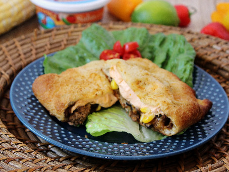 Get the Kids Cooking with Taco Pockets!