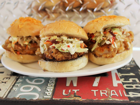 Fueled Up Game Day Crispy Chicken Sandwiches
