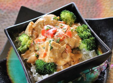 Crock Pot Coconut Curry Chicken