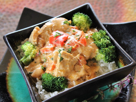 Crock Pot Coconut Curry Chicken