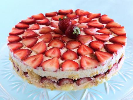 Strawberry Vanilla Bean Tiramisu