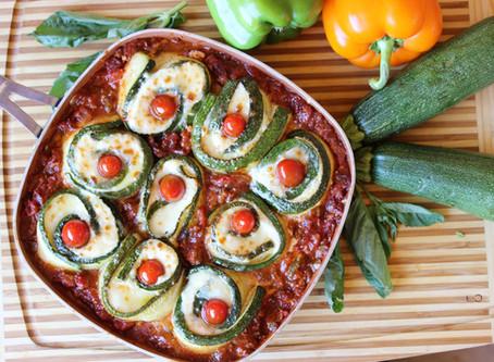 Zucchini Swirl Skillet Lasagna