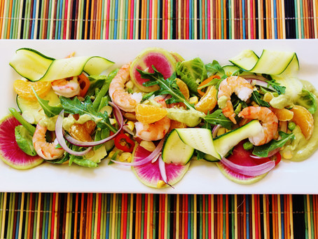 Avocado Summer Fresh Salad