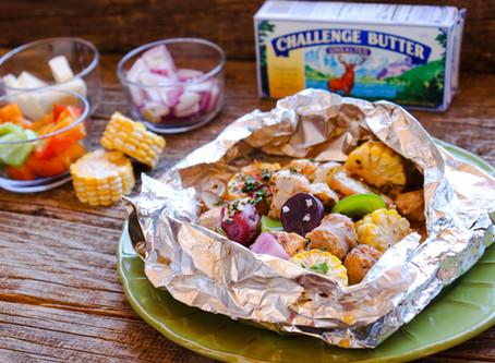 Cajun Chicken Foil Packs