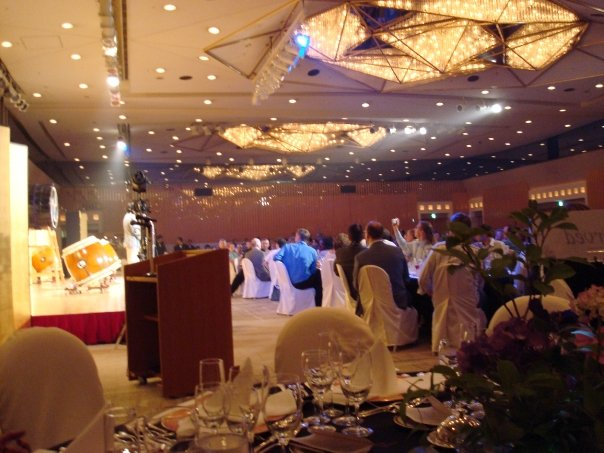 our staff table is all the way in the corner.jpg it was a fabulous dinner.jpg we had roughly 360 sea
