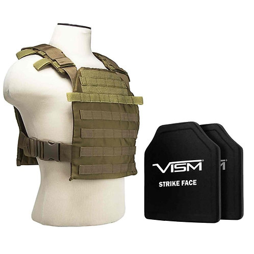 Flat plate carrier level 3+