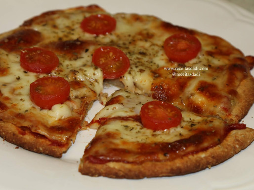 Pizza de batata doce fit