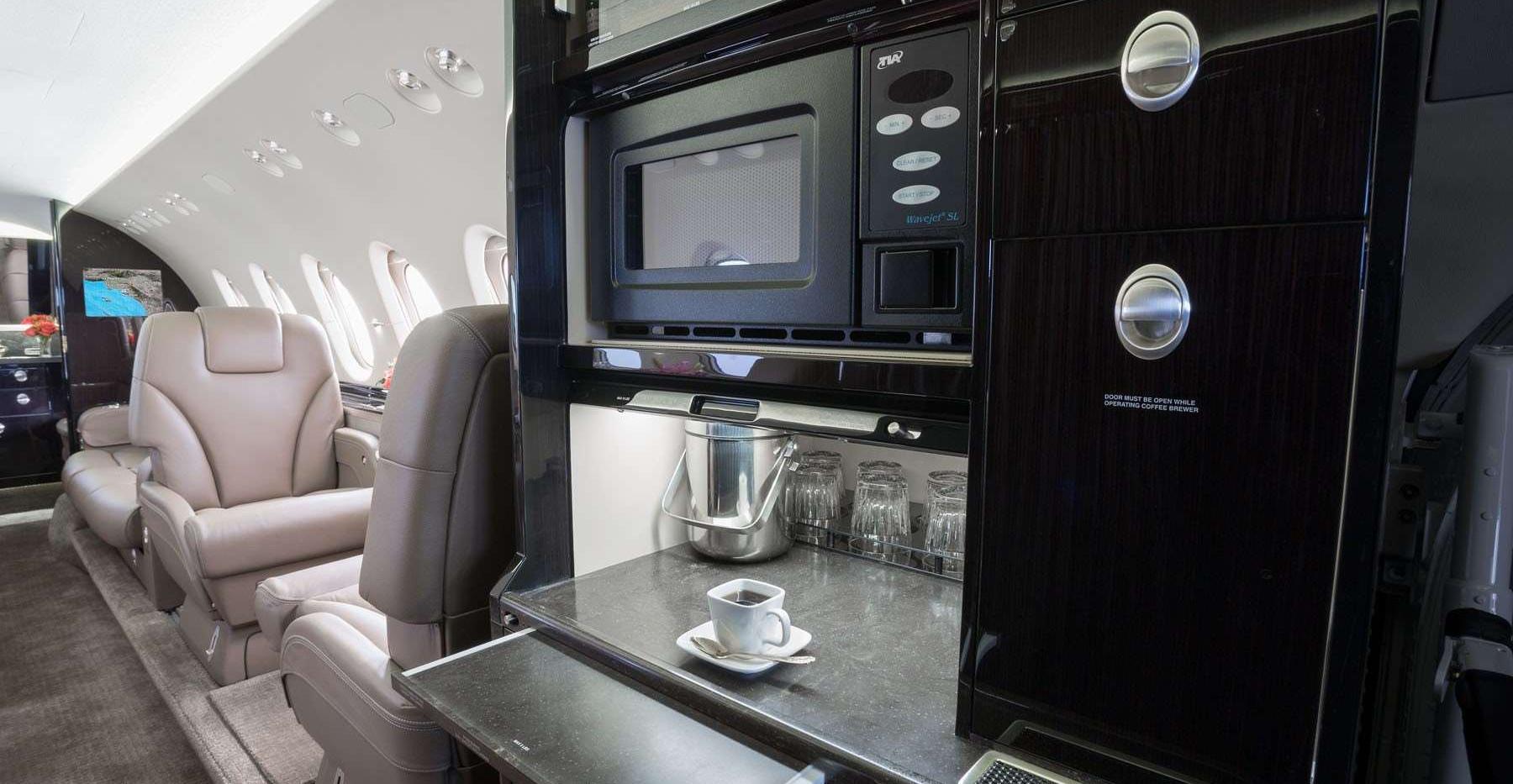 N900LD 2012 Hawker 900XP Galley.jpg