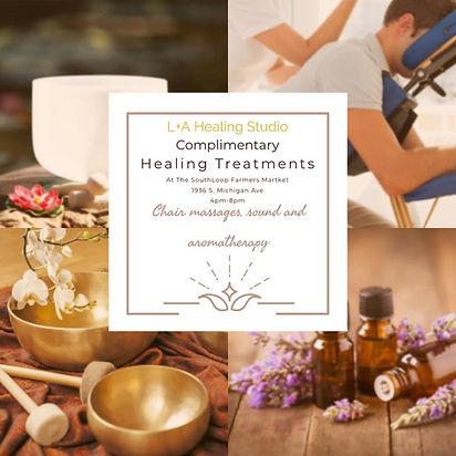 L&A Sutdio Complimentary Healing Treatme