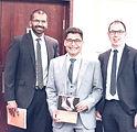 Dev Mahadevan, Maneesh Bhatia & Nick Gallogly at Essentials of Foot & Ankle Surgery textbook launch