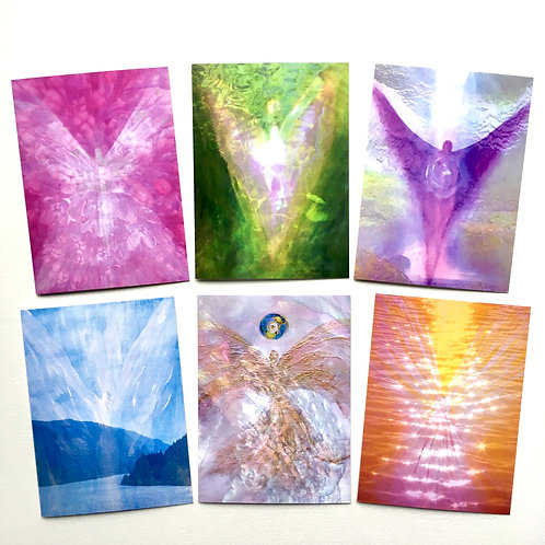 GREETING CARDS ANGELS IN NATURE COLLECTION 2