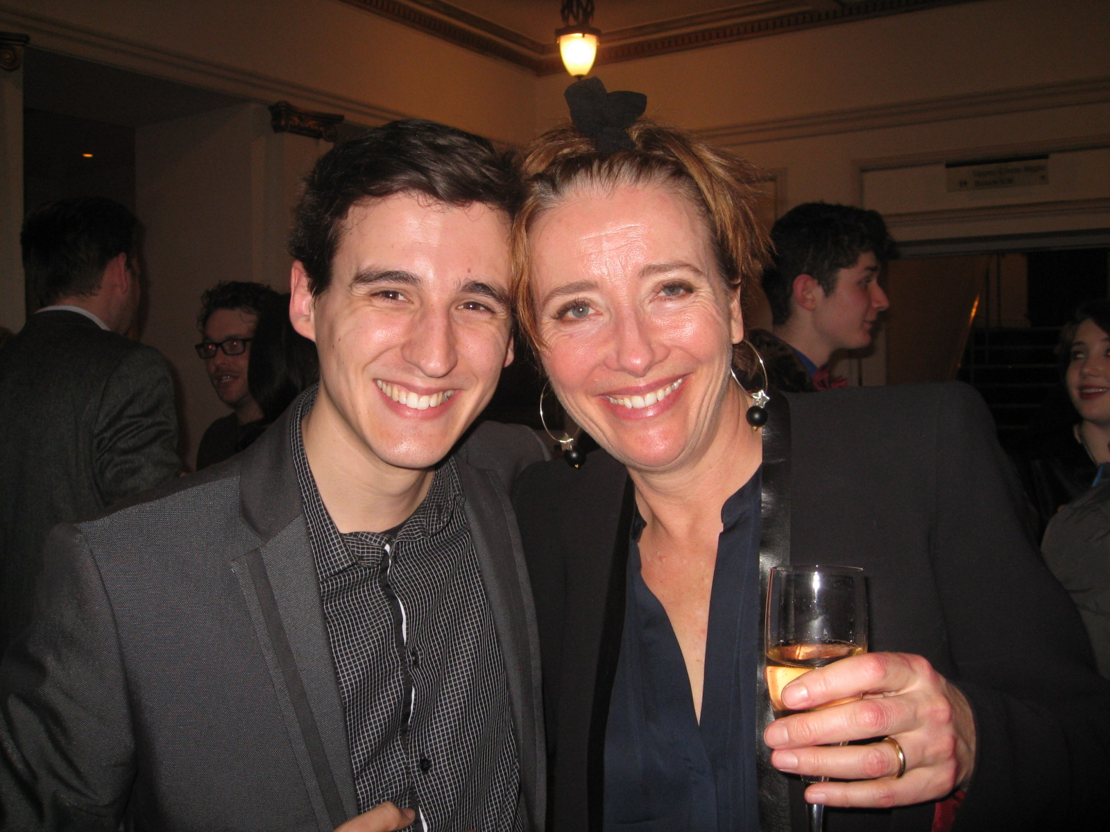 Con Emma Thompson