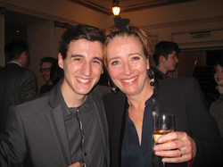 With Emma Thompson