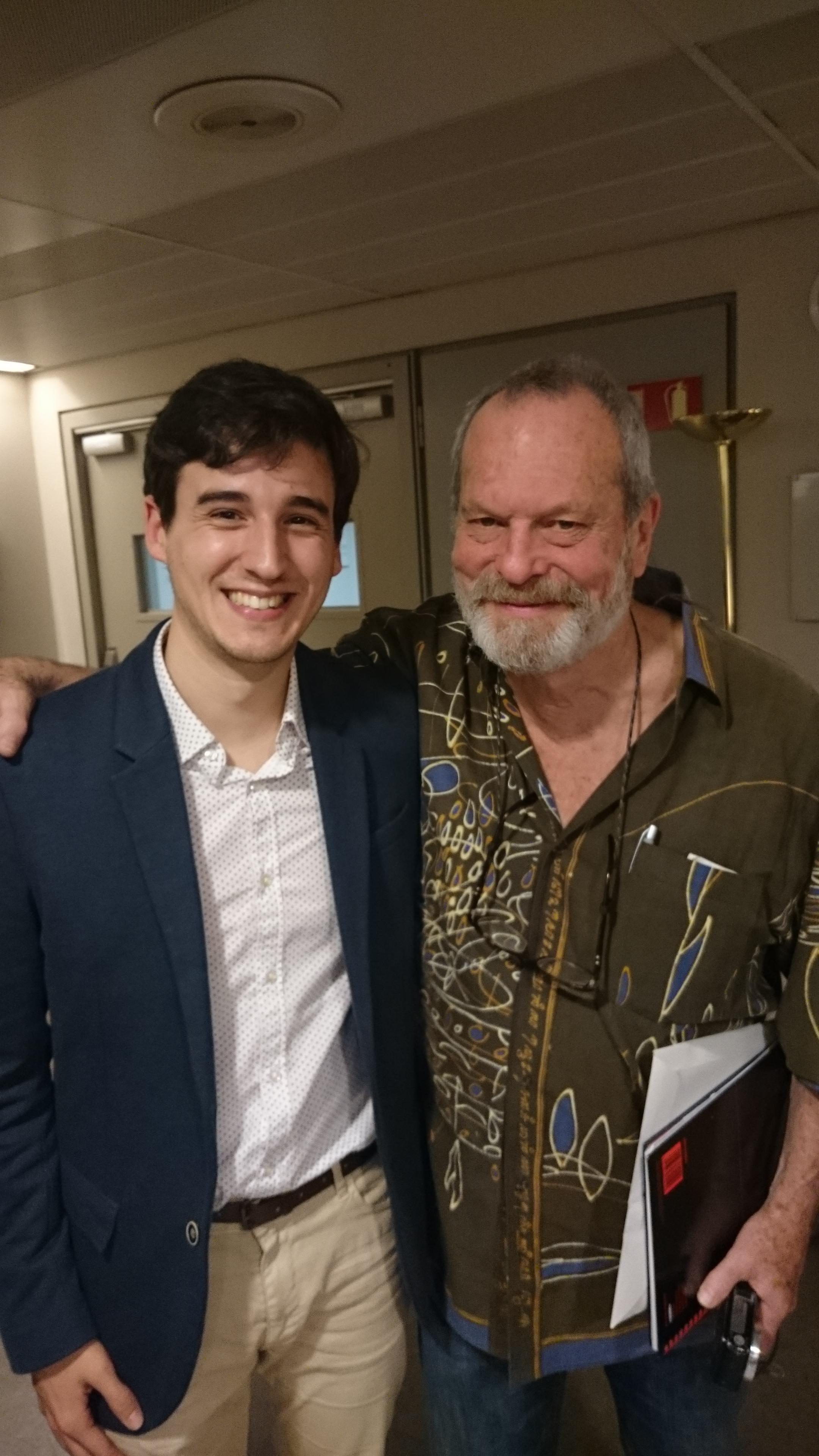 Con Terry Gilliam (Monty Python)