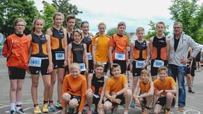 Nachwuchs-Triathleten des TSV Bargteheide beim Rosenstadt Triathlon in Eutin