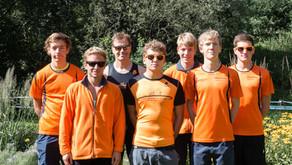 Tribühne Triathlon Norderstedt gleichzeitig Abschlusswettkampf der Landesliga Schleswig-Holstein