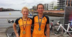 Triathlon DM- Sprintdistanz in Bremen Stormarner dominieren die AK 50