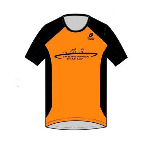 PERFORMANCE Run Top short sleeve (Crew Neck)