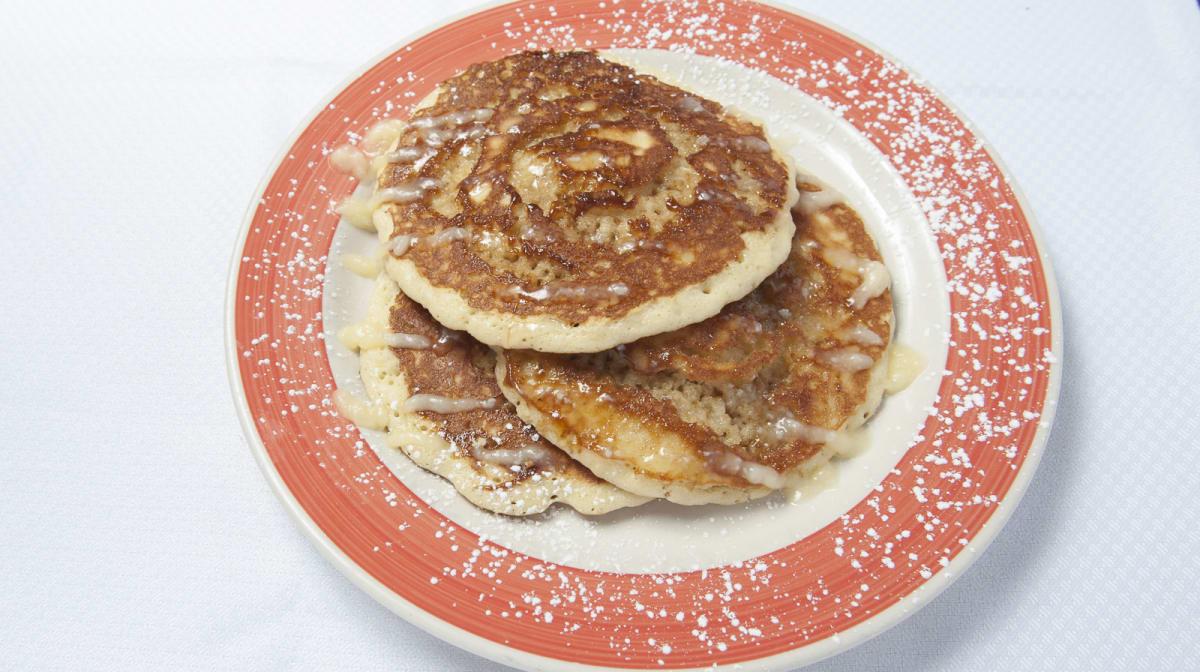 Cinna Bun Pancakes