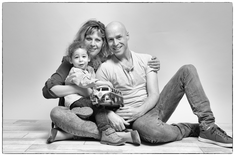 צילום משפחה בסטודיו