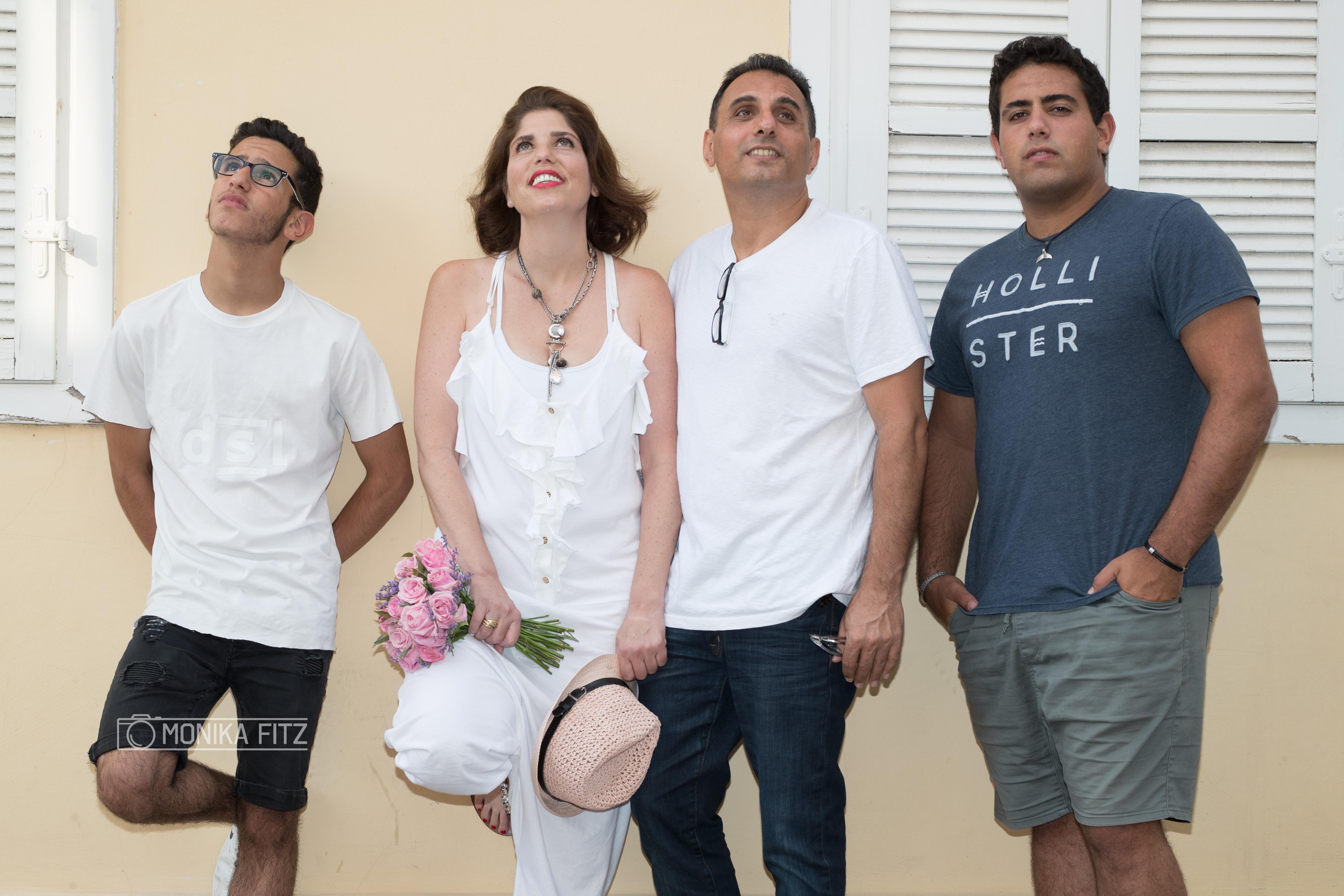 צילום משפחה: תל אביב נווה צדק