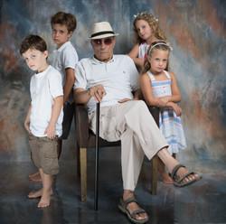 Family Photo in the Studio